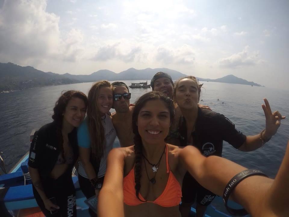 www.islatortugadivers.com-isla-tortuga-divers-koh-tao-wreck-diving-cedar-pride-loco-latinos-al-poder