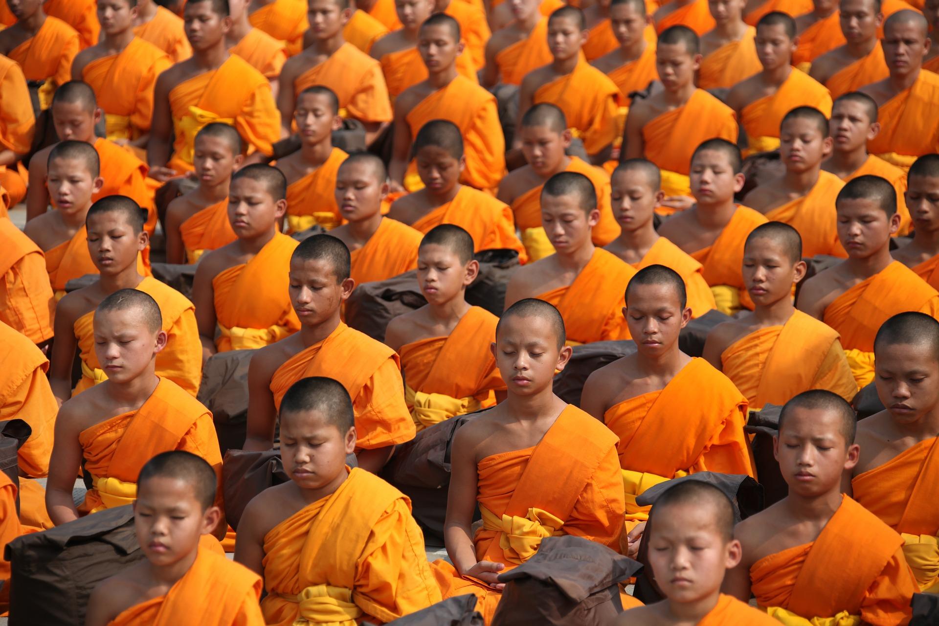 islatortugadivers.com koh tao breve introduccion al budismo rezando monjes