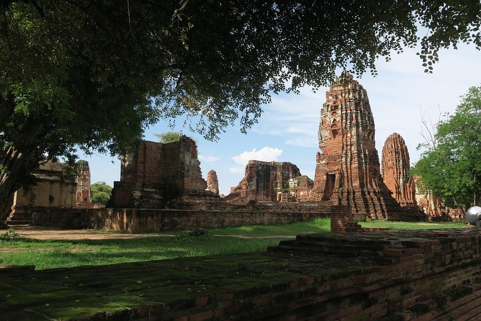 islatortugadivers.com koh tao historia de tailandia chiang mai Ruinas-de-Ayutthaya